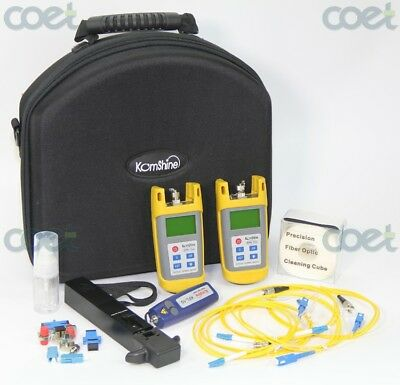 FTTx Tester ToolKit Fiber Optic Power Meter,Optical Light Source,Identifier,VFL