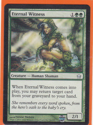 MTG Fifth (5th) Dawn 1 x ETERNAL WITNESS Uncommon card  Never played  AS NEW