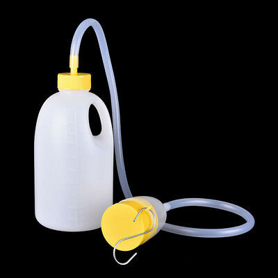 1700mL Travel Trucker Male Bed Pee Urinal Tube Bottle Night Drainage Container