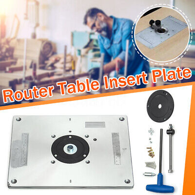 New aluminum router table insert plate 235 x 300 x 8mm with ring for new aluminum router table insert plate 235 x 300 x 8mm with ring for woodworking greentooth Gallery