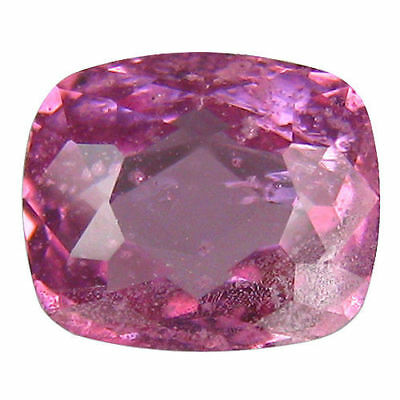 2.070 Cts Dazzling Top Luster! Burma Pink Natural Spinel Cushion Cut Gemstones