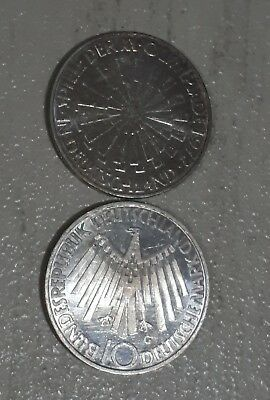 Germany  silver  1972 10marks
