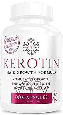 Kerotin Hair Growth 90 Capsules-Free Fast Delivery