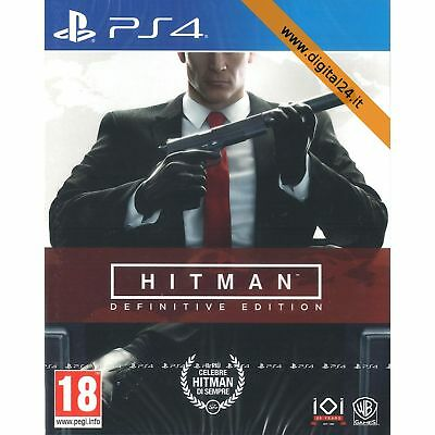 Hitman Definitive Edition 20° Anniversario - PlayStation 4 - PS4 [ITA]