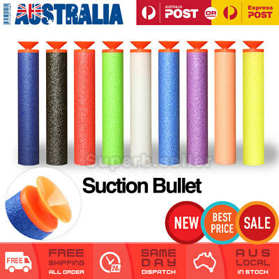 30/60 Toy Refill Gun Darts Soft Suction Cup Bullets Blasters Nerf Elite strike