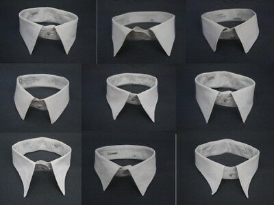 Vintage White Detachable Shirt Collar Marcella 14 3/4, 15,  15 1/2, 16, 16 1/2,