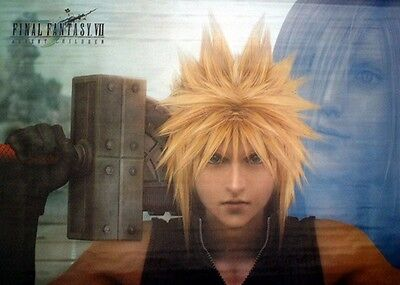 Cloth Poster Final Fantasy VII FF7 Cloud #6