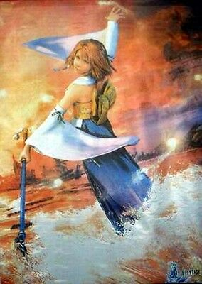 Cloth Poster Final Fantasy X FF10 #4 Yuna