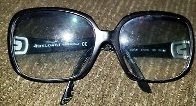 a0e55084a31 Authentic BVLGARI Black Eyeglass RX with Frame BV 8020B - 5264 51mm Vintage