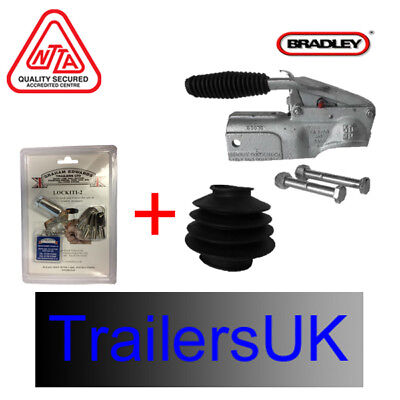 Bradley Doublelock D5050 / KIT266 Coupling Head & LOCK for 48mm Drawtube -2750kg