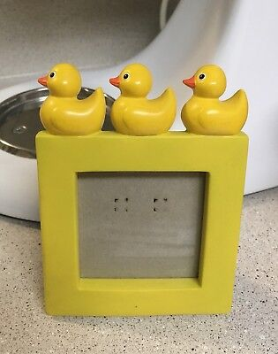 Department 56 Just Ducky Yellow Picture Frame