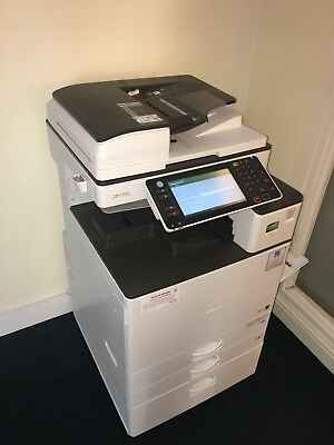 RICOH MP C3503 Finisher, Printer A3,A4,A5 etc good condition comes with toner