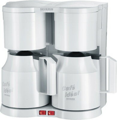 severin ka 5827 weiss duo filter kaffeemaschine schwenkfilter 800 w teefilter eur 95 90. Black Bedroom Furniture Sets. Home Design Ideas