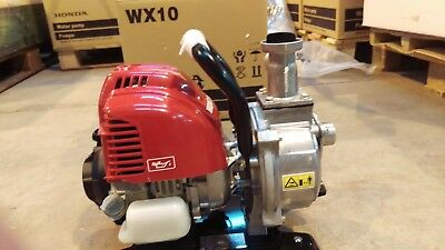 Honda wx10 pump, Brand New C/W warranty. WITH FOC POST TO STANDARD UK POSTCODES