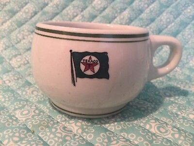 TEXACO TANKER USED RESTAURANT WARE MAYER CHINA Coffee Cup Marked 455