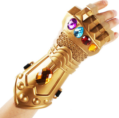 2018 Marvel The Avengers Legends Thanos Infinity Gauntlet Gloves Hallowmas Props