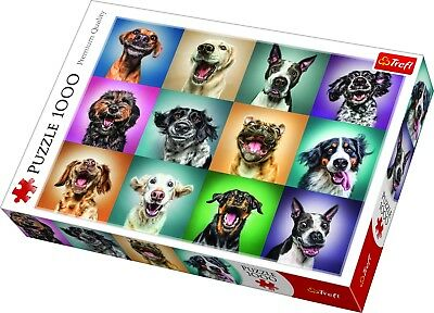 Trefl 1000 Piece Adult Large Assorted Funny Dog Pet Portraits Jigsaw Puzzle NEW