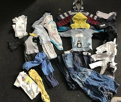 Next, Mothercare, George and others Baby Boy Clothes Bundle 6-9 Months