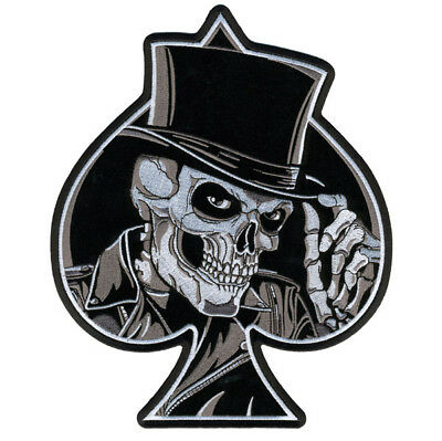 Hot Leathers Top Hat Skull Patch
