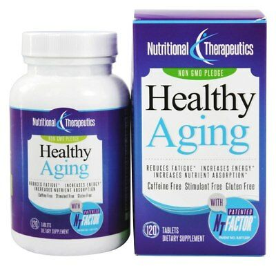 Nutritional Therapeutics Healthy Aging with NT Factor, 120 Tablets