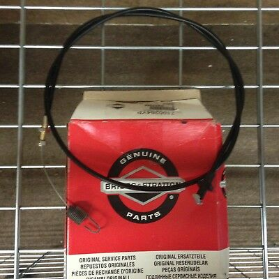 Genuine Briggs and Stratton Speed Cable 7100364YP, John Deere GX22368