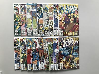 Lot of 18 X-Men (1991 1st Series) from #13-34 VF Very Fine