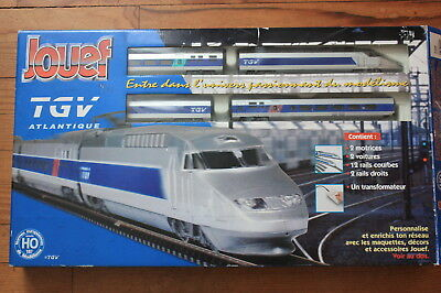 Coffret Train JOUEF Mallette TGV Atlantique 74120 HO 1/87
