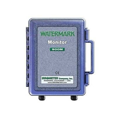 WATERMARK Monitor Model 900M-O Irrometer Data Logger Soil Moisture & Temperature