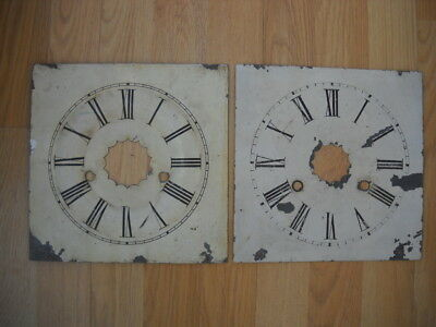 Two American Wall Clock Dials.