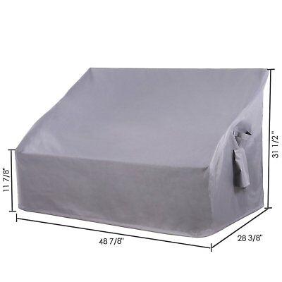 Patio Furniture Cover Bench Loveseat Sofa 2 Seater Outdoor Waterproof Protector