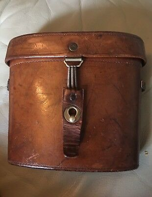 Carl Zeiss, Jena, D.R.P.  'Feldstecher Sloped Shoulder Binocular Case