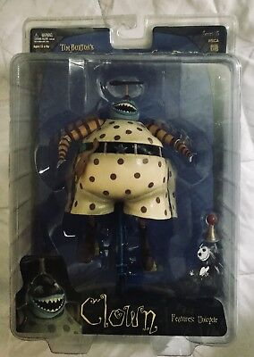 Neca Series 5 The Nightmare Before Christmas Clown With Unicycle Action Figure