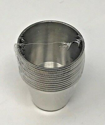 Stainless Steel Dipping Sauce Cup, 2.5 oz., Pack Of 12 New Free Shipping
