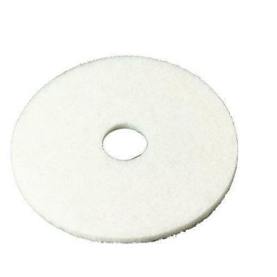 "3M White Super Polish Pad 4100, 17"" or 20"" Floor Pad, Machine Use CHOOSE AMOUNT"