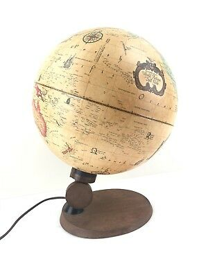 World Antique Spot Globe by Reader's Digest, In working condition, Lightup Globe