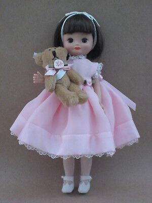 "8"" Betsy McCall doll BETSY'S FAVORITE TEDDY - SIGNED by TONNER!"