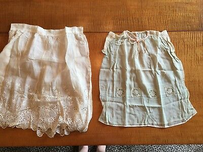 antique children's clothing - 2 nice early pieces
