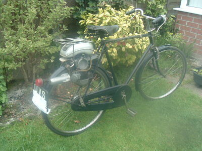 1954  Raleigh Power Pak   cyclemotor auto cycle TAX AND TEST EXCEMPT