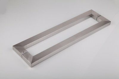 TOGU TG-6013 450mm/18 inches Square/Rectangle Shape Stainless Steel Push Pull Do