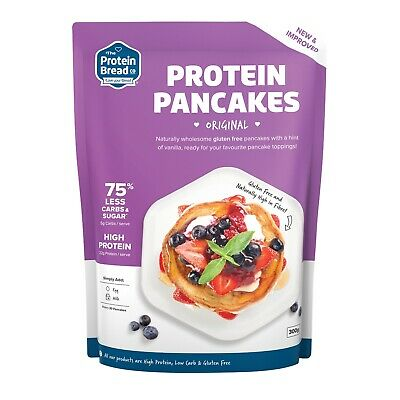 The Protein Bread Co Pancake Mix 300g Fluppy Nutritious Low Carb No Added Sugar