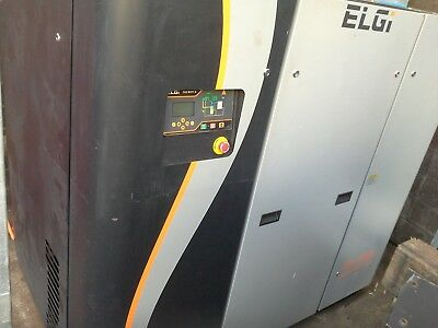 Screw compressor variable drive Elgi 55V