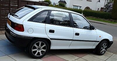 1996 Vauxhall Astra super condition 28,899 low miles from new Mot till May 2019