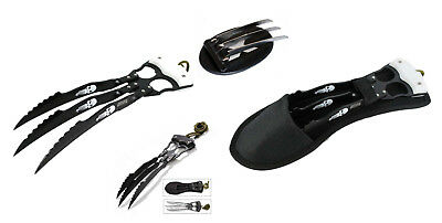 """10"""" 12"""" Wolverine Fantasy Stainless Steel Claws Replica Movie Blade Collectable"""