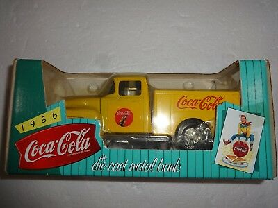 Ertl Coca Cola 1956 Die-cast Metal Bank 1997 *New*