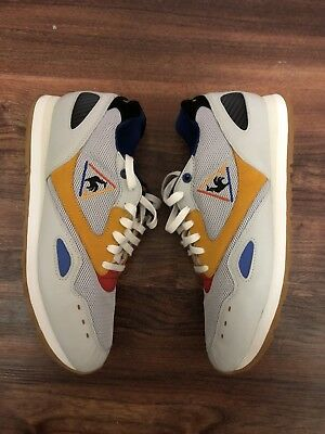 """factory price 3d39f 79356 Crooked Tongues X Le Coq Sportif Flash """"French Exchange"""" Size 10.5 44"""