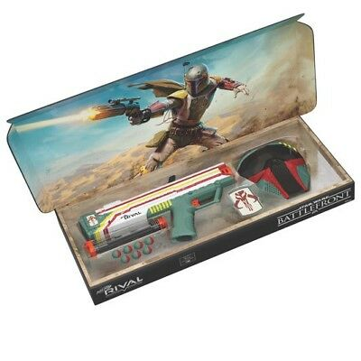 Nerf Rival Apollo Xv 700 Gun Star Wars Gun Mandalorian Boba Fett Face Mask New