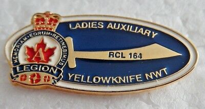 RCL Ladies Auxiliary Branch 164 Yellowknife NWT Pin