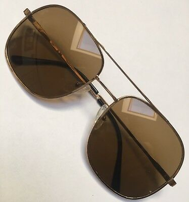 AMOR 90L VINTAGE SUNGLASSES GLD FILLED wi ZEISS GLASS LENSES BRAND NEW! 56x20