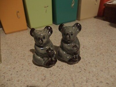 Koala Salt And Pepper Shakers~~ Darbyshire?