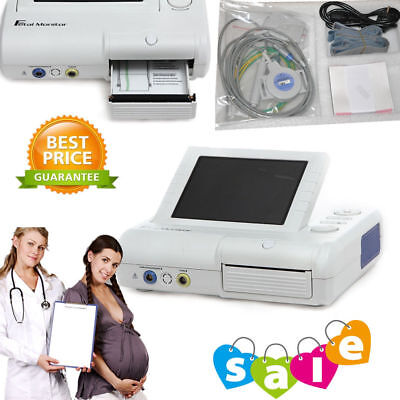 CONTEC CMS800G Fetal Monitor Heart Rate Fetal Move Ultrasound TOCO Sensor, Mark